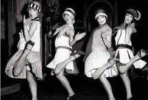 1920s / It was a decade of prosperity and dissipation, and of jazz bands, speakeasies, bootleggers, raccoon coats, flappers, flagpole sitters, bathtub gin, and marathon dancers. It was the Roaring 20s! / by Jackie Garbarino