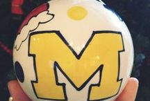 Maize & Blue Holidays / Bringing a dash of Michigan to the holiday season, because everything looks better in Maize & Blue.