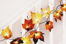 Genius DIYs: Autumn / Get inspired with cozy and colorful seasonal decor and DIY ideas!