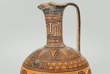Grieken Vazen Archaïsch-geometrisch