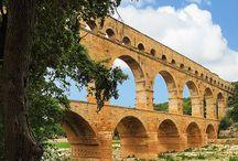 Romeinen bouwkunst aquaduct