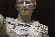 Romeinen beeldhouwkunst keizer