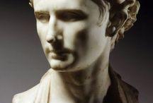 Romeinen beeldhouwkunst portretbuste