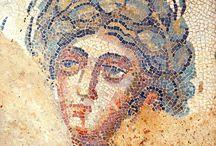Romeinen schilderkunst mozaïek