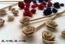 flor, fleur, fiore,flower, blume, blomst / complementos artesanales. Piezas únicas, realizadas a mano con arcilla polimérica.