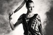 AW12 Medusas web / Photographer: Camilla Reyman Model: Maria Rattenborg Make up: Kit Lytjohan