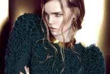 AW13 Eiffel of bones / Photographer: Niklas Højlund Stylist: Maria Angelova Makeup: Gabriella Tipsa Model: Sissel Friis  #fashion #design #knitted #knitwear #copenhagen