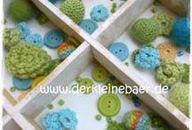 Jewelry, Beads, Schmuck handmade by Tante Nana / Individueller Schmuck ... gefilzt, gehäkelt, genäht ... handmade by www.tantenana.de (ehemals www.derkleinebaer.de)