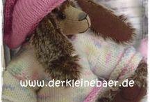 Teddy & Co. by Tante Nana / ♥ Von Hand genähte Teddies zum Liebhaben & Sammeln ... handmade by www.tantenana.de (ehemals www.derkleinebaer.de) ♥