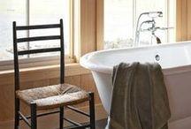 Baños clásicos | Clasic bathroom / Selección de baños clásicos | Baños rústicos | Cuartos de baño clásicos |