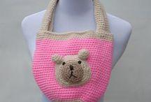 Crochet BAGS(Baits)Cushions. / by Natela G