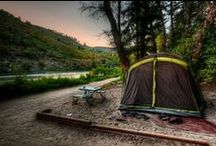 Campgrounds - Jackson Hole / Campsites, RV sites and more in and around Jackson Hole Wyoming.
