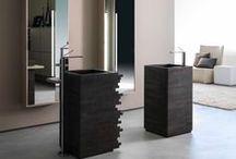 Lavabos de piedra | Stone washbasin / Lavabos de piedra en Barcelona. Ven a verlos a nuestra tienda de baños de diseño en Barcelona