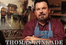 Art - Thomas Kinkade / by Donna Artioli