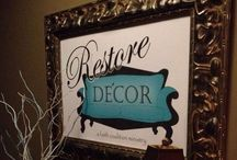 Restore Decor - Our Store Edwardsville, IL / Restore Decor is a nonprofit resale shop for gently used furniture & home accessories.  All proceeds benefit Faith Coalition-Edwardsville and support needs in our community.  Open Saturdays 10-3.