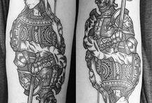 Tattoos / Meta dessa vida: virar um gibi.