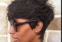 Hair Styles: Natural and Relaxed / A collage of uber cute natural and relaxed hair styles