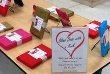 2015 - Blind Date with a Book: Meet the Dating Pool / To celebrate Valentine's Day 2015, Wilson Library staff have created two Blind Date with a Book Displays. Located on the 1st Floor and Basement level.