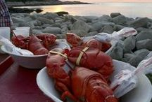 Eat! #RockportMA / Food is a main attraction in Rockport, MA. #lobsters #fish #seafood #strudel #icecream #clams #boiled #dinner #lunch #food #NewEngland #BearskinNeck