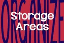 Organize // Storage Areas / by AmeriClean