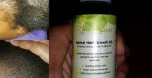 Hair Growth and Health / Healthy hair practices, hair growth oils, before and after