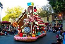 """""""A Candyland Christmas"""" / The 2015 Frederick Christmas Parade will be December 17th.  Look here for fun ideas for floats, decorations and costumes!"""