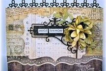 Borders/Edgers Dies / A selection of great craft projects utilizing Cheery Lynn Designs border dies.