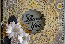 Doily Dies / A selection of great craft projects utilizing Cheery Lynn Designs Doily Dies.