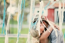 * Wedding something blue * / Wedding styling thema, samengesteld door Oh Happy Day. www.ohhappyday.nl