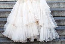 * Wedding dresses *