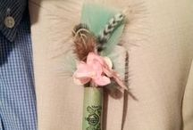 * Boutonnieres * / Wedding styling thema, samengesteld door Oh Happy Day. www.ohhappyday.nl