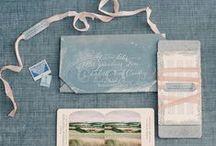 * Stationery * / Wedding styling thema, samengesteld door Oh Happy Day. www.ohhappyday.nl