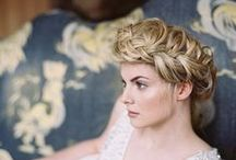 * Bridal hairstyles * / Wedding styling thema, samengesteld door Oh Happy Day. www.ohhappyday.nl