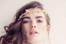* Bridal hair pieces * / Wedding styling thema, samengesteld door Oh Happy Day. www.ohhappyday.nl