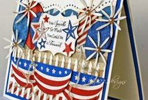 4th of July / Some creative ideas using Cheery Lynn Designs to show ones Patriotic Spirit!
