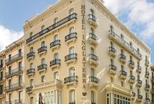 Hotel Inglaterra / 3-star hotel located in the ´Golden Triangle´, in between Plaza Catalunya and Plaza Universitat.  Calle Pelai 14 +34934922244 / by Hotel Denit Barcelona