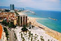 Barcelona beaches / by Hotel Denit Barcelona