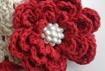 Crochet -Flores y Cintas / Ganchillo -Crochet. Flores, motivos y cintas / by Carmen Sanchez