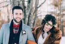 * Wedding winter * / Wedding styling thema, samengesteld door Oh Happy Day. www.ohhappyday.nl