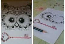my drawings and crafts / *-*