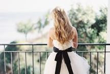 * Wedding Black and White * / Wedding styling thema, samengesteld door Oh Happy Day. www.ohhappyday.nl