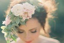 * Wedding french flowers * / Wedding styling thema, samengesteld door Oh Happy Day. www.ohhappyday.nl