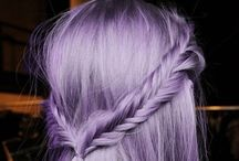 Lavender Hair Inspiration / I'd love to dye my hair this colour! Is it too much?!