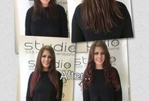 Studio58 Hair Extensions - Before & After / A selection of Studio58 Hair Extension Transformations