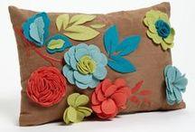 ideas for log cabin cushion ( fashion textile)