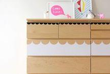 Malm komód DIY - Malm dresser DIY