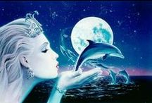 Dolphin Therapy / #dolphins, swimming with dolphins, dolphin therapy, healing, spirituality