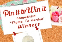 """It's thyme to garden"" Competition"