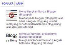 Desain Blog Mudah / Desain Blog Sederhana dan Mudah, Informasi Teknologi dan Hobi