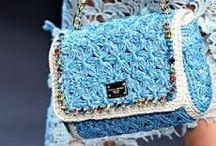 Crochet purses,bags etc. / **Inspiration** / by M Vlzla